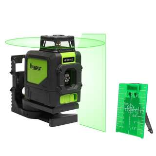 #71 Levelsure 901CG Professional Laser Level, Mute 150 Ft Green Beam Cross Laser Self-Leveling 360-Degree Horizontal Line with Magnetic Pivoting Base, 2 Full-time Pulse Modes