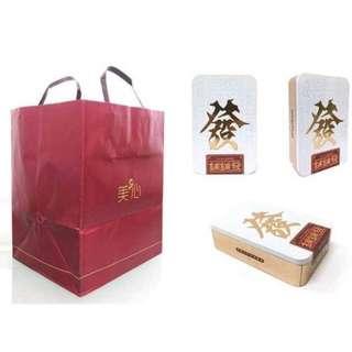 (預購)香港美心 鋪鋪發 春節發財禮盒(附紙袋)