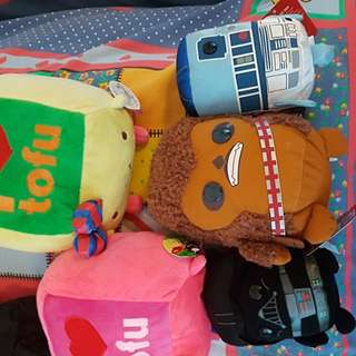 QUICK SALE Star wars stormtrooper R2D2 tofu