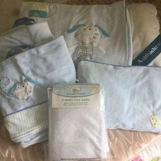 Preloved- Baby Bedding Set- 7PCS
