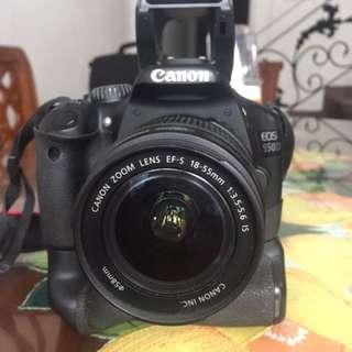 Camera canon 550 d