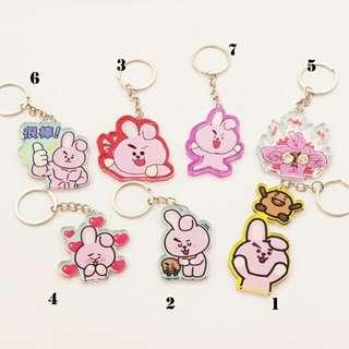 [PO] BTS BT21 Cooky Keychain