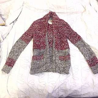 Aritzia Wilfred 50% wool cardigan size XXS