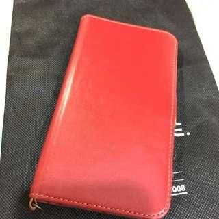 Iphone6plus/6s Plus紅色皮套