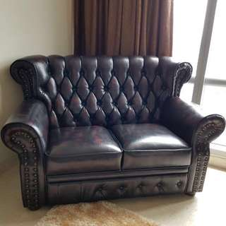 Premium Leather Sofa