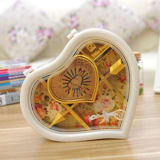 🚚 Heart Shape Dancing Girl Music Box (Valentine / Birthday / Gift) [Pre-order ONLY]