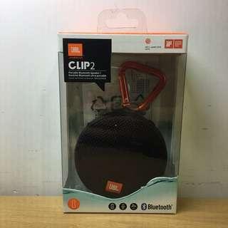 JBL Clip 2 speaker (100% New)