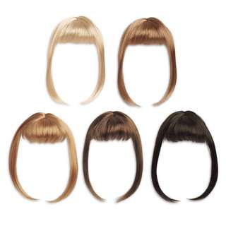 American Girl clip on Stylin' Bangs - Red