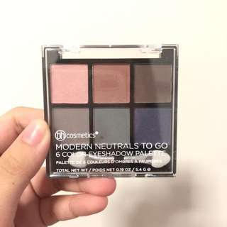 Bh cosmetics 6 color eyeshadow palette