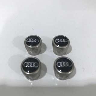 Authentic AUDI Exclusive Tyre Valve Caps