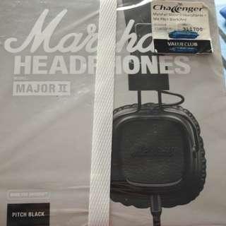Marshall Headphones (Model :Major II)