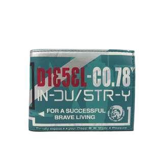 Diesel 男裝銀包(100% 正品) 現貨 HIRESH XS X01984-PR795-H4872  綠色
