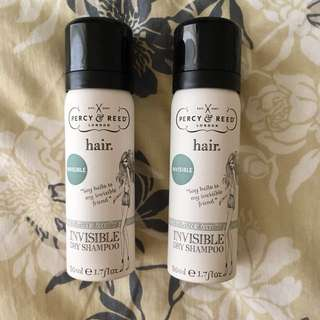 2 x Percy & Reed Dry Shampoo (2 bottles of 50ml)
