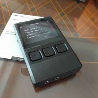 iBasso DX90 w/ Dignis Brown Leather Case + Sandisk 64GB MicroSD