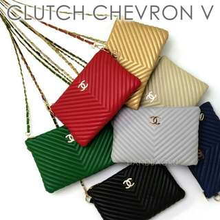 Clutch chevron
