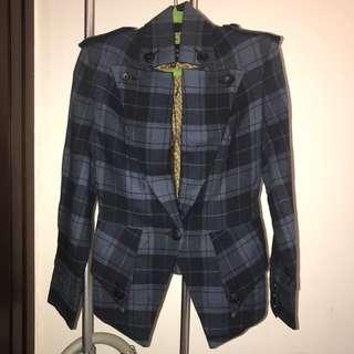 Vivienne Westwood Anglomania tartan blazer