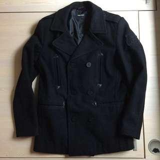 ZARA MAN 羊毛中褸 wool coat jacket