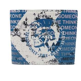 Diesel 男裝銀包(100% 正品) 現貨 NEELA SMALL - wallet X01986-PR795-H5002 藍色