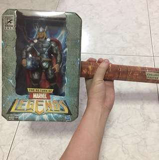 Marvel Legends Thor (SDCC Exclusive Lightning Version)