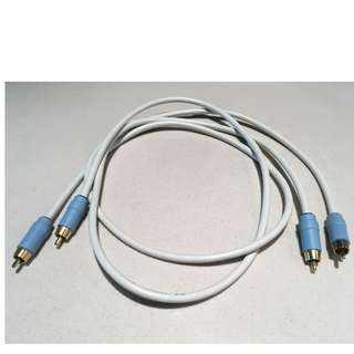 The Chord company C line aray RCA interconnect