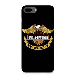 Harley Davidson Club iPhone 8 Plus Custom Hard Case