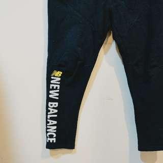 New Balance 縮口棉褲 內刷毛 160