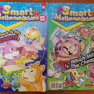 Smart Mathematicians Upper Primary Issue 14 & 16