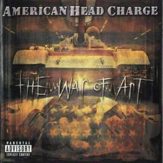 American Head Charge ‎The War Of Art cd