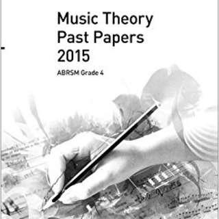 Music Theory 2015 Paper ABRSM Grade 4 + model answer