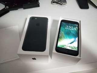 WTS/TRADE: iPhone 7 128gb, Matt Black