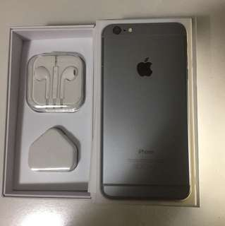 iPhone 6plus space gray 64gb all function working perfect