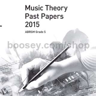 ABRSM Grade 5 music theory paper and model answer (2015)