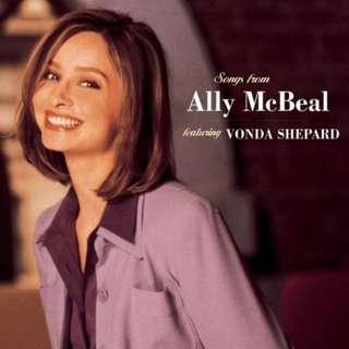 CD Vonda Shepard – Songs From Ally McBeal Label: 550 Music Sony Music Soundtrax Format: CD, Album  Released: 1998 Genre: Rock, Funk / Soul, Pop Style: Rock & Roll, Rhythm & Blues, Pop Rock, Soul