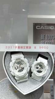 🚚 卡西歐耶誕節限量套錶