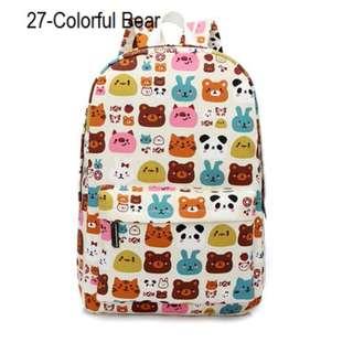 Korean New Style Bag / School bag / Shabby Chic Backpack