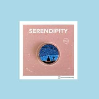 BTS Jimin Serendipity Enamel Pin