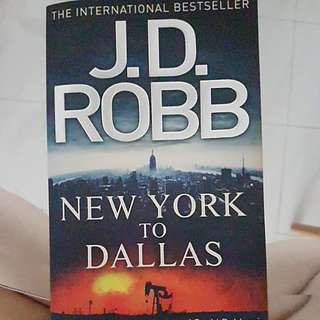 New york to dallaa by jd robbs