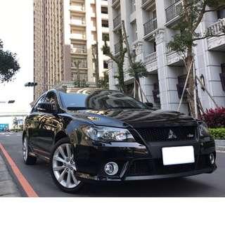 【北部認證中古車】三菱Mitsubishi FORTIS io運動版 免頭期款 免付訂金 雙證件可全額貸款購車