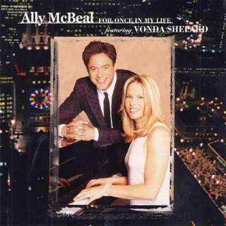 CD Various Featuring Vonda Shepard – Ally McBeal - For Once In My Life Label: Epic Format: CD, Album  Released: 2001 Genre: Rock, Funk / Soul Style: Pop Rock, Soul