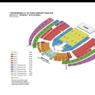WTB a pair of jay chou tickets