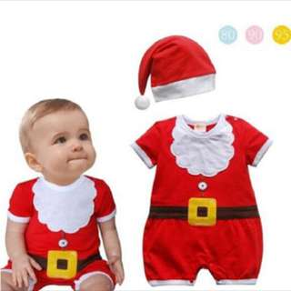 Christmas suit for 70-80cm baby
