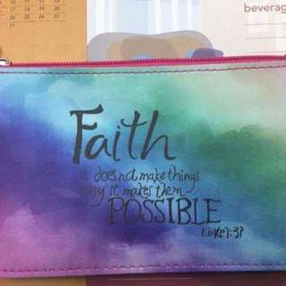 Pouch (printed- Inspirational Verse)