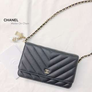 CHANEL Wallet On Chain 吊飾款