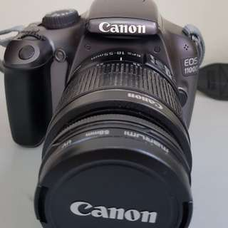 Canon EOS 1100D For Sale (with box)