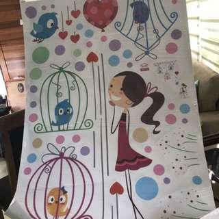 Wall stickers Nursery Room or Playroom