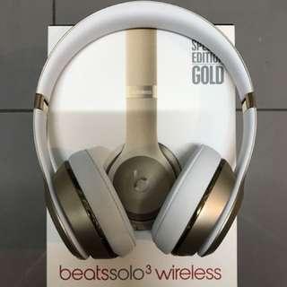 Beats solo 3 金色