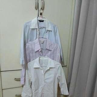 上班族襯衫mastina G2000 3件100元