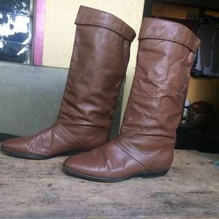Sepatu Kulit Untuk Wanita | Size 39 | Kulit Domba 100% | Kondisi 80%