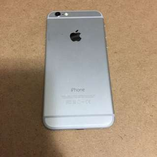 iPhone6 128g silver only one good condition