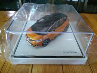 Renault Scenic Hatchback scale model